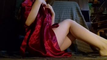 Upclose big dildo and vibrator orgasm - Snapchat Videos