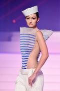 Gigi Hadid -      Jean-Paul Gaultier Fashion Show Paris January 22nd 2020.