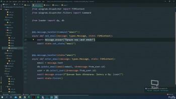 Разработка Telegram ботов на Python (2020) Видеокурс