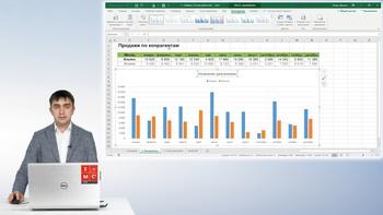 Excel. Полезные приемы работы с графиками. 18 нестандартных графиков. Живые графики для профессионалов (2019) Видеокурс