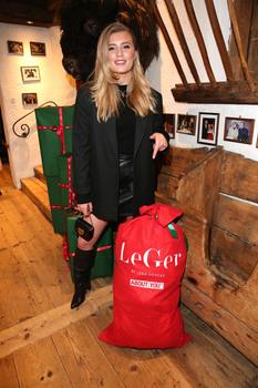 Leggy Luna Schweiger Christmas Party By Lena Gercke