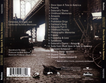 Ennio Morricone - Once Upon A Time In America 1984 (Special Edition) (1998) FLAC