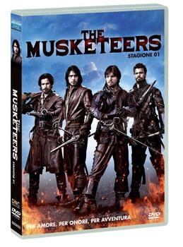 The Musketeers - I tre moschettieri (2014–2016) Stagione 1 [ Completa ] 4 x DVD9 COPIA 1:1 ITA ENG