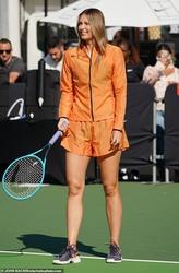 Maria Sharapova - Nike's Queens of the Future event in Soho, New York , 8/20/2019