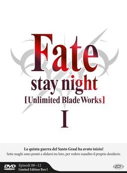 Fate/stay night: Unlimited Blade Works (2014–2015) Stagione 1 e 2 [ Completa ] 6 x DVD9 COPIA 1:1 ITA JAP