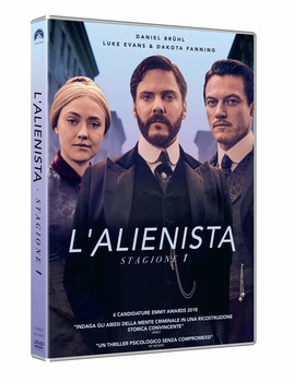 L'alienista - The Angel of Darkness (2018–2020) Stagione 1 [ Completa ] 4 x DVD9 COPIA 1:1 ITA ENG SPA TED