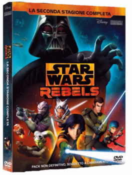 Star Wars Rebels (2016) Stagione 2 [ Completa ] 4 x DVD9 Copia 1:1 Multi Ita