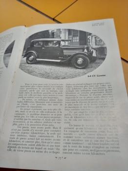 Salon de L'auto Octobre 1932 : Lecture pour tous 1213031353232059