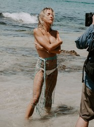 Kristin Cavallari at a Photoshoot at a Beach in Mexico - 8/15/19 *adds*