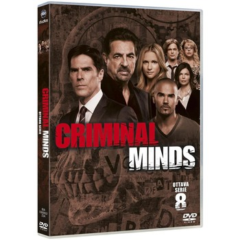 Criminal Minds - Stagione 8 (2012-2013) [Completa] 5xDVD9 COPIA 1:1 ITA ENG TED