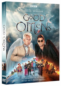 Good Omens (2019) Mini serie TV [ Completa ] 2 x DVD9 1 x DVD5 COPIA 1:1 ITA ENG