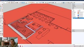 SketchUp для дизайнеров и архитекторов от А до Я (2019) Видеокурс