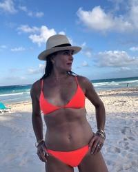 Brooke Shields in a Bikini at a Beach - 5/26/20 Instagram