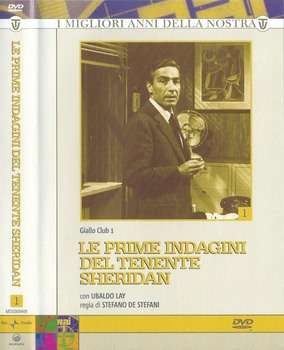 Le prime indagini del tenente Sheridan - Giallo Club 1 (1959) 4xDVD5 COPIA 1:1 ITA