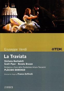 Verdi: La Traviata - Plácido Domingo, Orchestra e Coro della Fondazione Arturo Toscanini  (2006/2002) 2 x DVD9 ITA