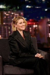 Greta Gerwig -        Jimmy Kimmel Live Hollywood January 8th 2020.