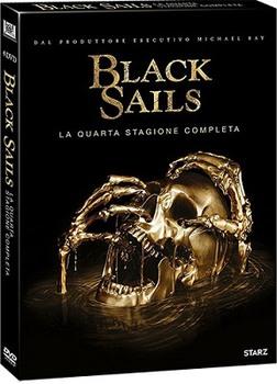 Black Sails - Stagione 4 (2017) [Completa] 4xDVD9 COPIA 1:1 iTA/ENG/SPA
