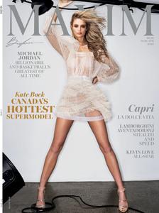 Kate Bock -        Maxim Magazine March/April 2020.