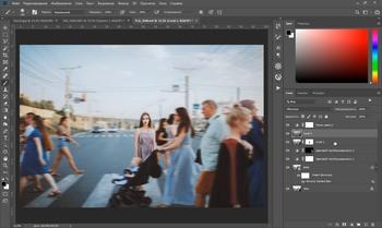 Кинематографичная обработка в Photoshop + Бонус (2019) Мастер-класс