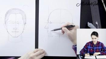 Базовый курс по портретной иллюстрации: цветные карандаши, маркеры (2020) Видеокурс