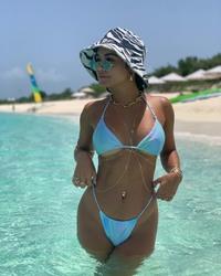 Vanessa Hudgens in a Bikini in Amanyara - 8/7/20 Instagram