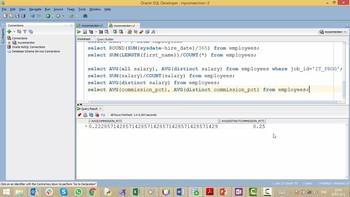SQL для начинающих - С нуля до сертификата Oracle (2019) Видеокурс