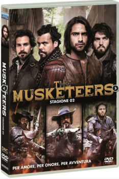 The Musketeers - I tre moschettieri (2014–2016) Stagione 2 [ Completa ] 4 x DVD9 COPIA 1:1 ITA ENG