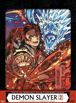 Demon Slayer (2019) Limited edition Box 2 [ Completa ] 3 x DVD9 COPIA 1:1 ITA JAP