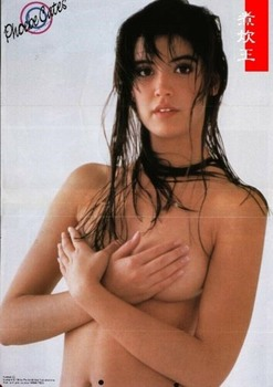 Phoebe Cates: Japanese Poster *Topless* MQ x 1