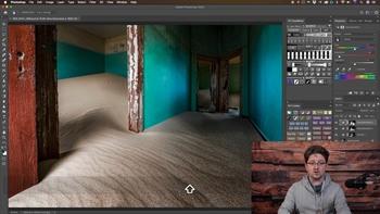 Обработка пейзажа в Photoshop: панель автоматизации (2020) Мастер-класс