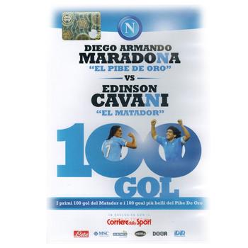 100 gol - Diego Armando Maradona vs Edinson Cavani (2013) DVD5 COPIA 1:1 ITA