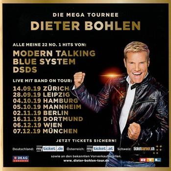 Dieter Bohlen - Dieter feat. Bohlen (Das Mega Album! Tour-Edition) (3CD) (2019) FLAC