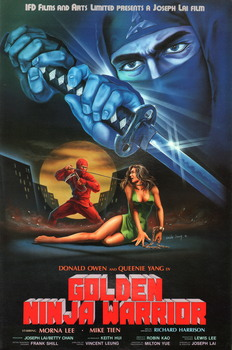 Golden Ninja Warrior (1986) DVD5 COPIA 1:1 Ita