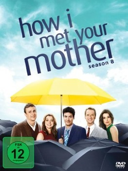 How I Met Your Mother (2005–2014) Stagione 8 [ Completa ] 3 x DVD9 COPIA 1:1 ITA ENG