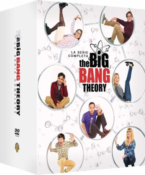 The Big Bang Theory (2007–2019) La serie completa  (Stagione 1 - 12) 37 x DVD9 COPIA 1:1 ITA TED ENG