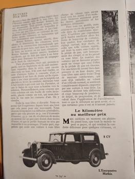 Salon de L'auto Octobre 1932 : Lecture pour tous 7ba23f1353232029
