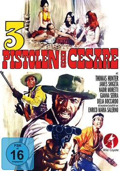 3 pistole contro cesare (1967) [ Import Germania ]  DVD5