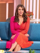 Elizabeth Hurley -         This Morning Show London October 7th 2019.