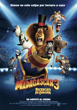 Madagascar 3 - Ricercati in Europa (2012) DVD9 Copia 1:1 ITA-ENG-GER
