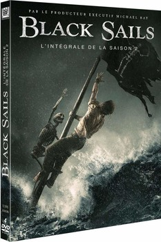 Black sails - Stagione 2 (2015) 3xDVD9 1x DVD5 COPIA 1:1 ITA-ENG-SPA