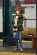 "Anna Kendrick -       ""Love Life"" Set New York City December 18th 2019."