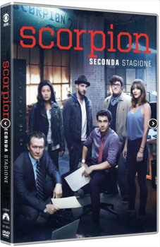 Scorpion (2014–2018) Stagione 2 [ Completa ] 6 x DVD9 COPIA 1:1 ITA ENG