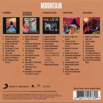 Mountain - Original Album Classics (5 CD) (2016) FLAC