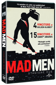 Mad Men (2007–2015) Stagione 2 [ Completa ] 4 x DVD9 COPIA 1:1 ITA ENG RUS