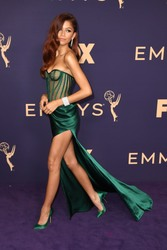 Zendaya - 71st Emmy Awards at Microsoft Theater in Los Angeles, 9/22/2019