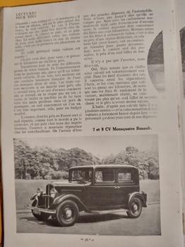 Salon de L'auto Octobre 1932 : Lecture pour tous E40aae1353232051