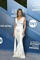 Jennifer Aniston at the 26th Annual Screen Actors Guild Awards at The Shrine Auditorium in Los Angeles - 1/19/20