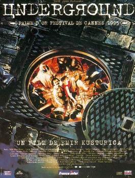 Underground (1995) 1xDVD9 1xDVD5 COPIA 1:1 ITA SRB CRO