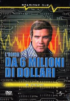 L'uomo da sei milioni di dollari (1974–1978) Stagione 2 [ Completa ] 5 x DVD9 COPIA 1:1 ITA ENG