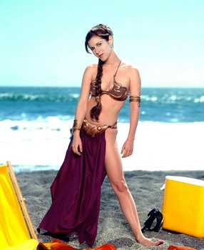 Carrie Fisher: On The Beach *Rolling Stone Shoot*